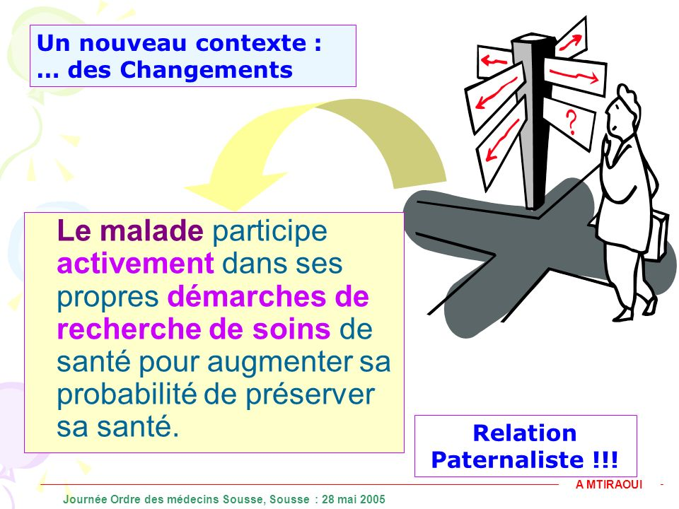 Relation Paternaliste !!!