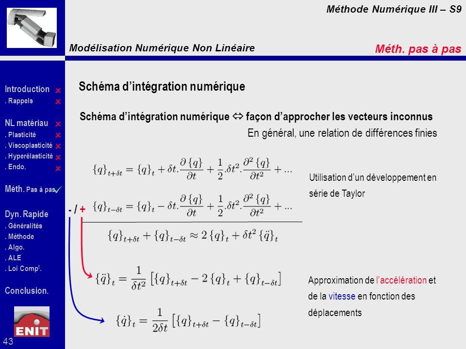 Schéma d'intégration numérique