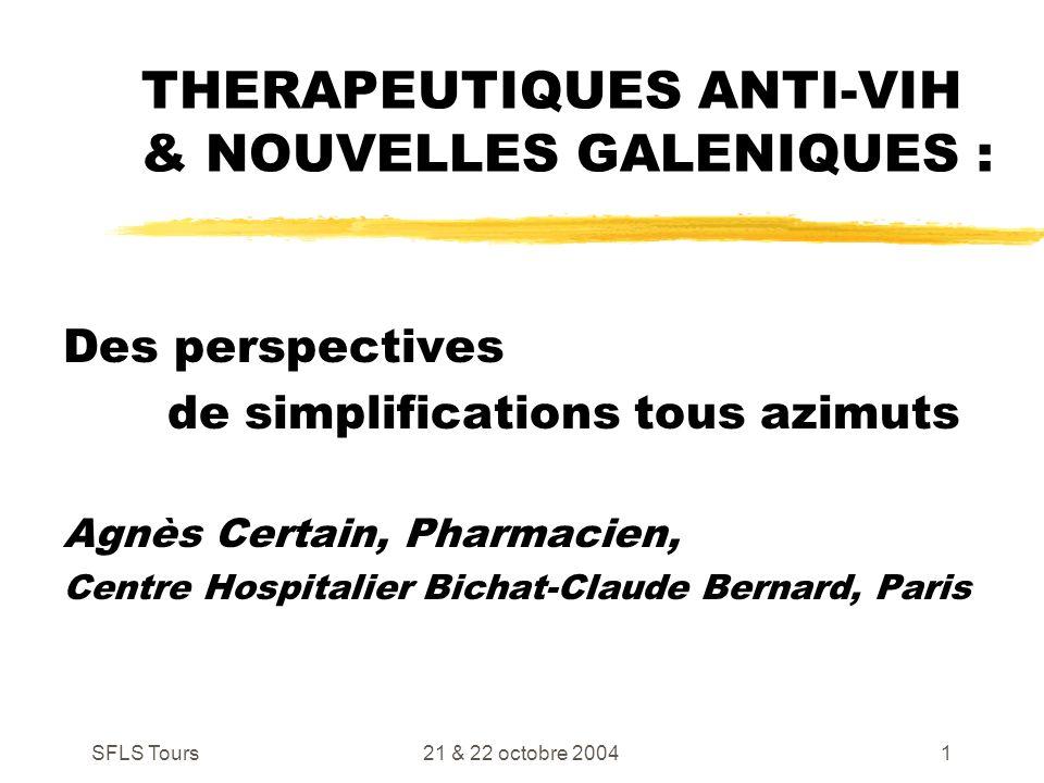 Therapeutiques anti vih nouvelles galeniques ppt - Centre claude bernard guilherand granges ...