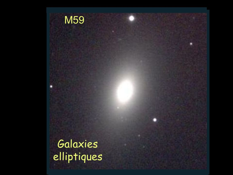 M59 Galaxies elliptiques