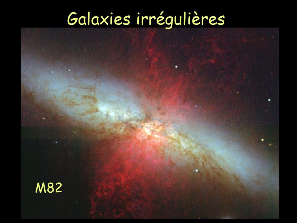 Galaxies irrégulières