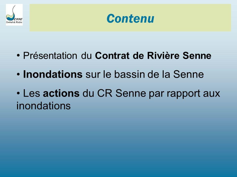 Contenu Présentation du Contrat de Rivière Senne
