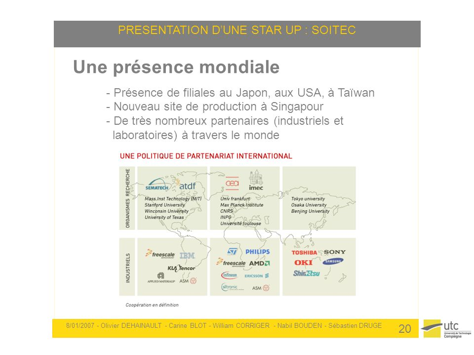 PRESENTATION D'UNE STAR UP : SOITEC