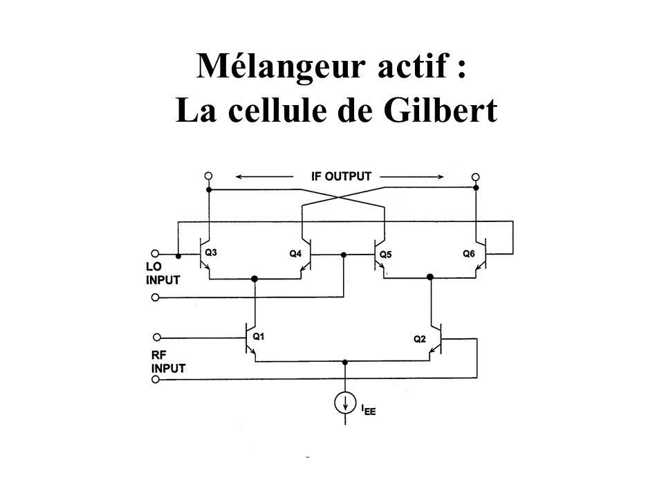Mélangeur actif : La cellule de Gilbert