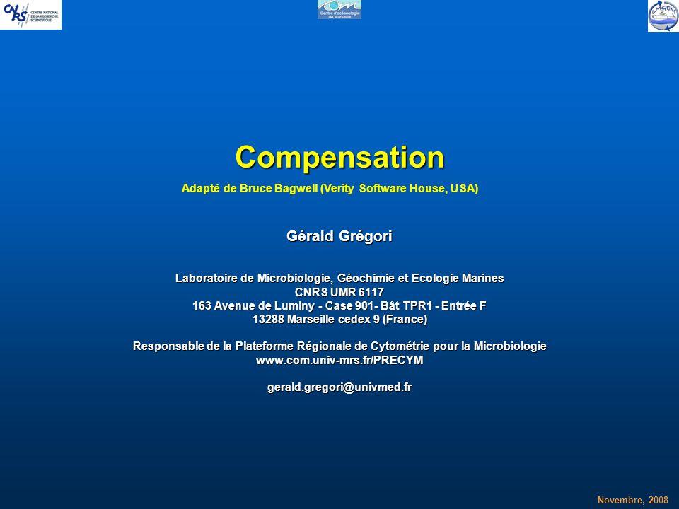Compensation Gérald Grégori