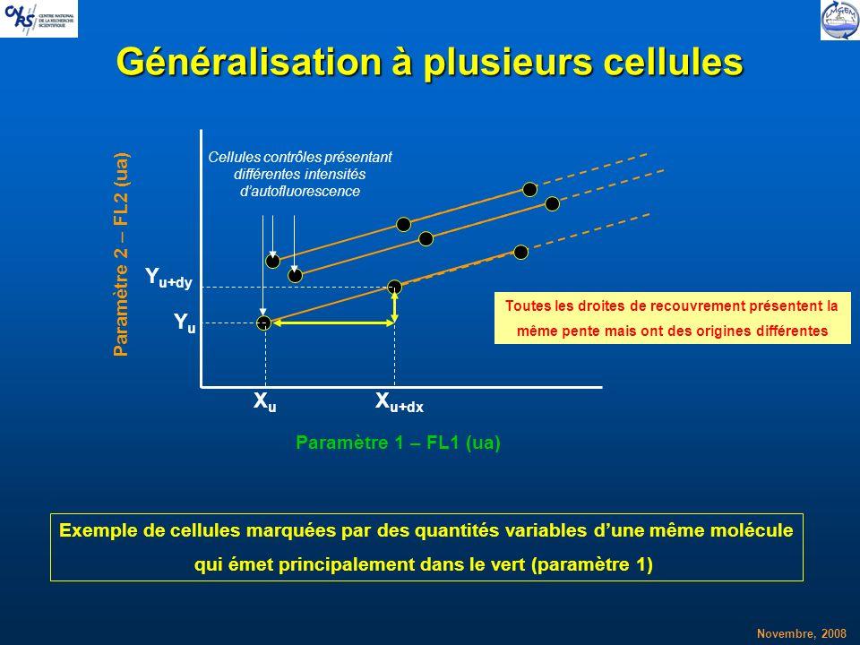 Généralisation à plusieurs cellules