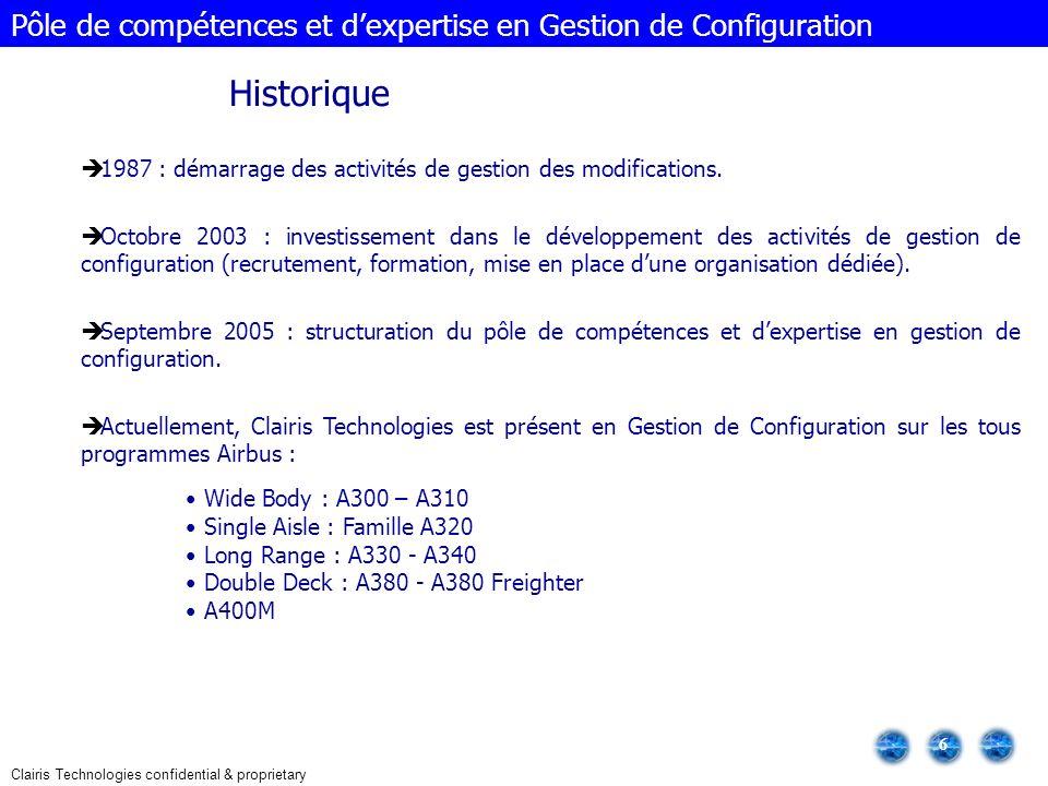 Pôle de compétences et d'expertise en Gestion de Configuration