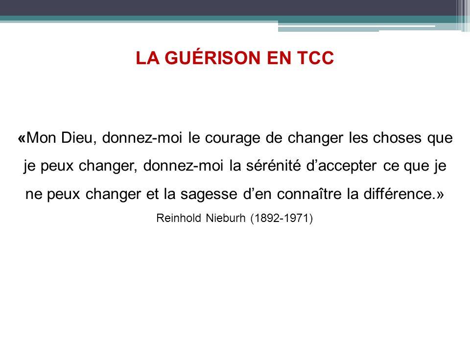 LA GUÉRISON EN TCC