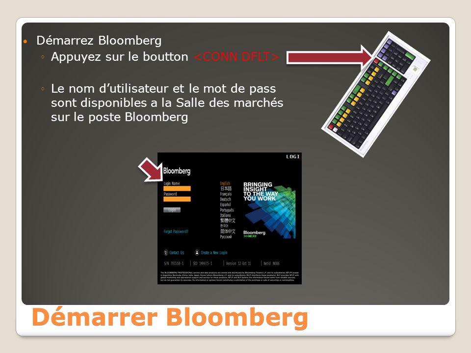 Démarrer Bloomberg Démarrez Bloomberg