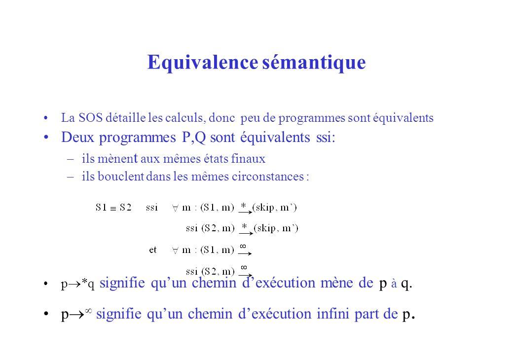 Equivalence sémantique