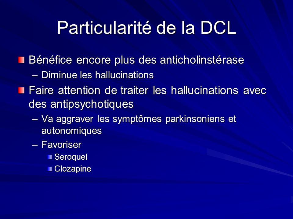 Particularité de la DCL