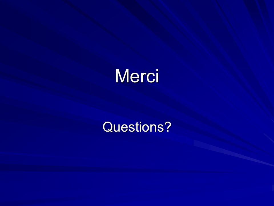 Merci Questions