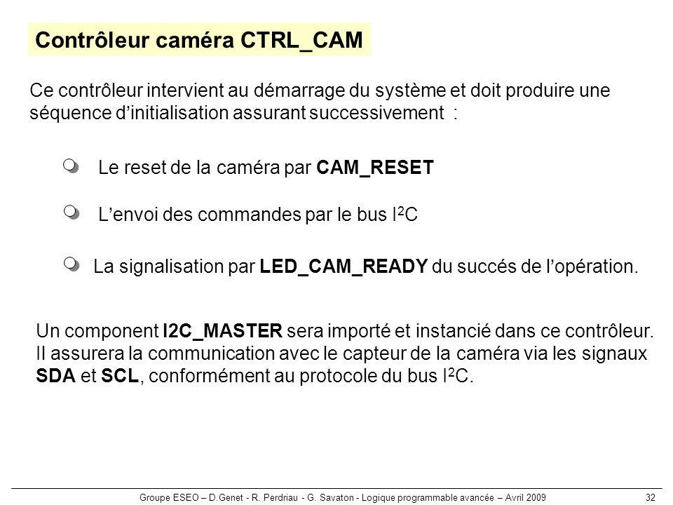 Contrôleur caméra CTRL_CAM
