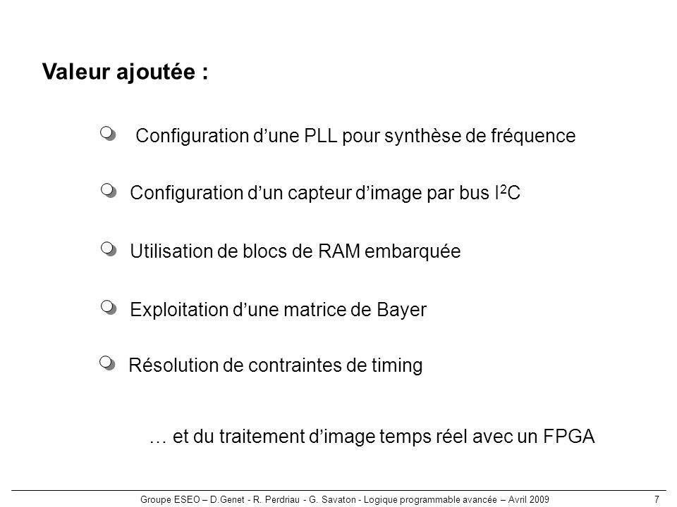 Valeur ajoutée : Configuration d'une PLL pour synthèse de fréquence