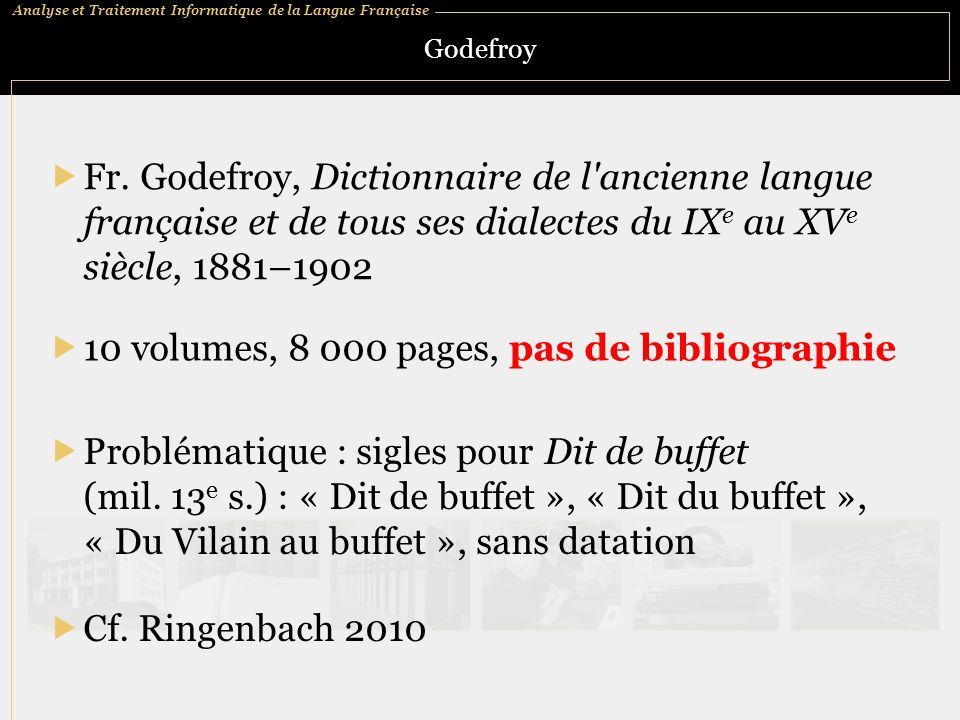 10 volumes, 8 000 pages, pas de bibliographie