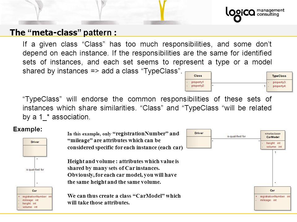 The meta-class pattern :