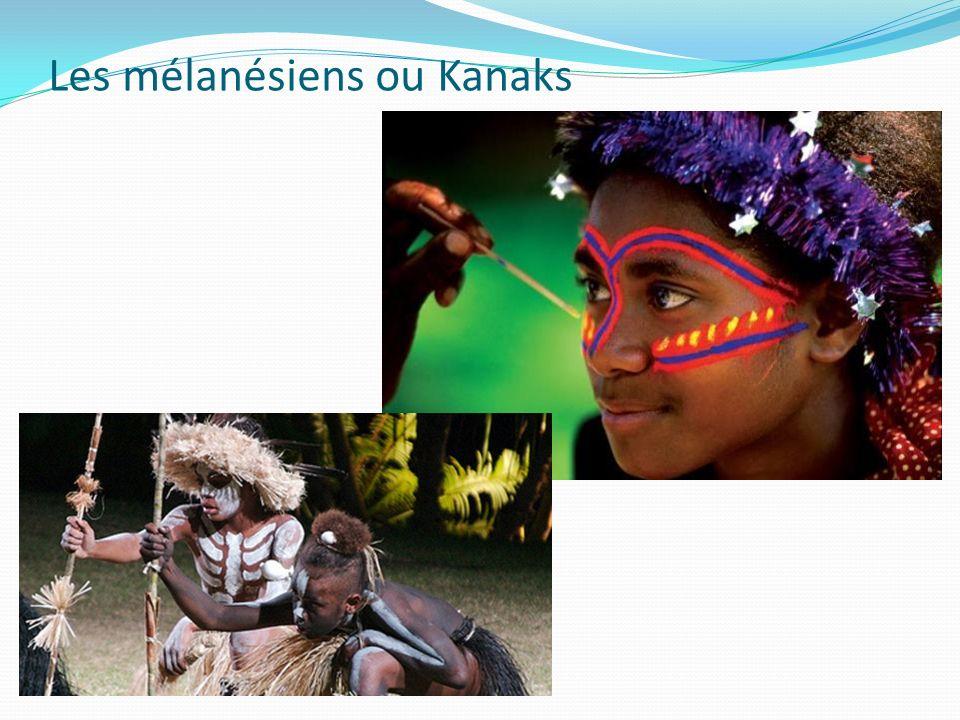 Les mélanésiens ou Kanaks
