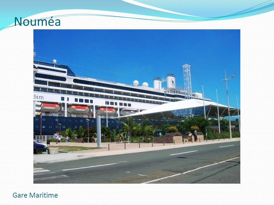 Nouméa Gare Maritime