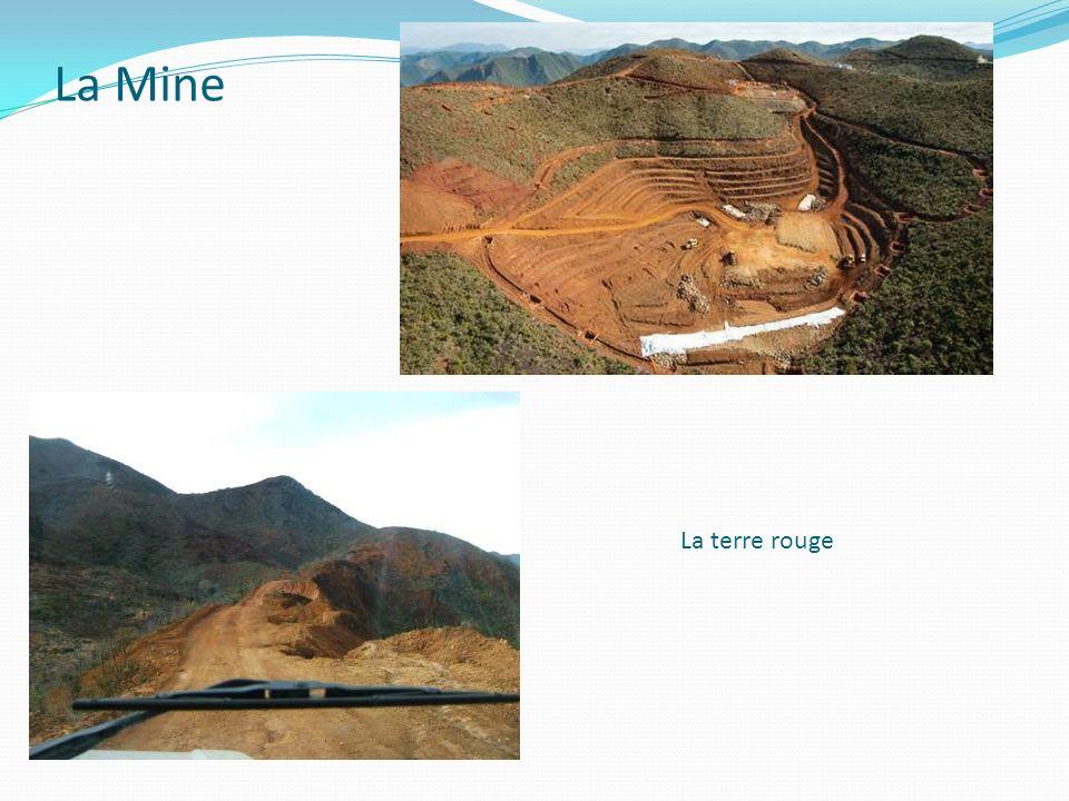 La Mine La terre rouge