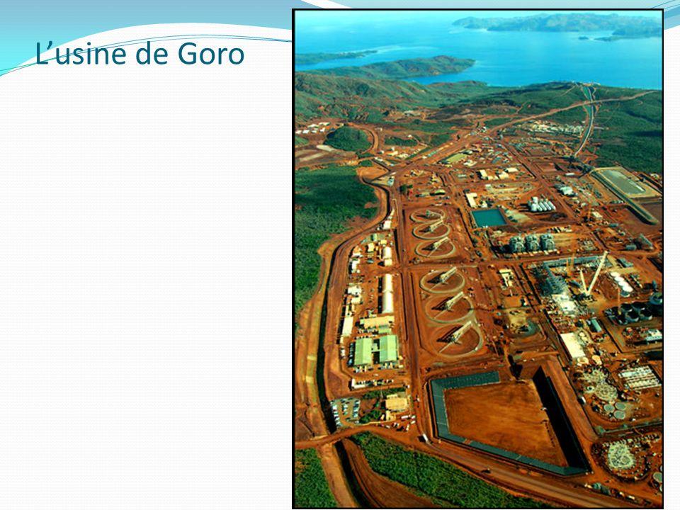 L'usine de Goro