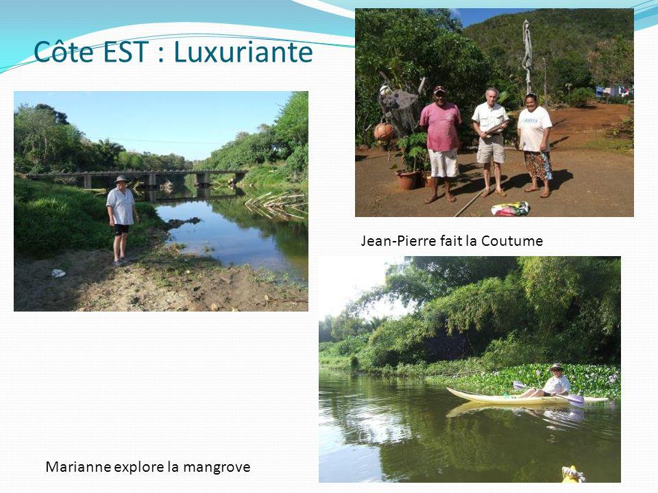 Côte EST : Luxuriante Jean-Pierre fait la Coutume
