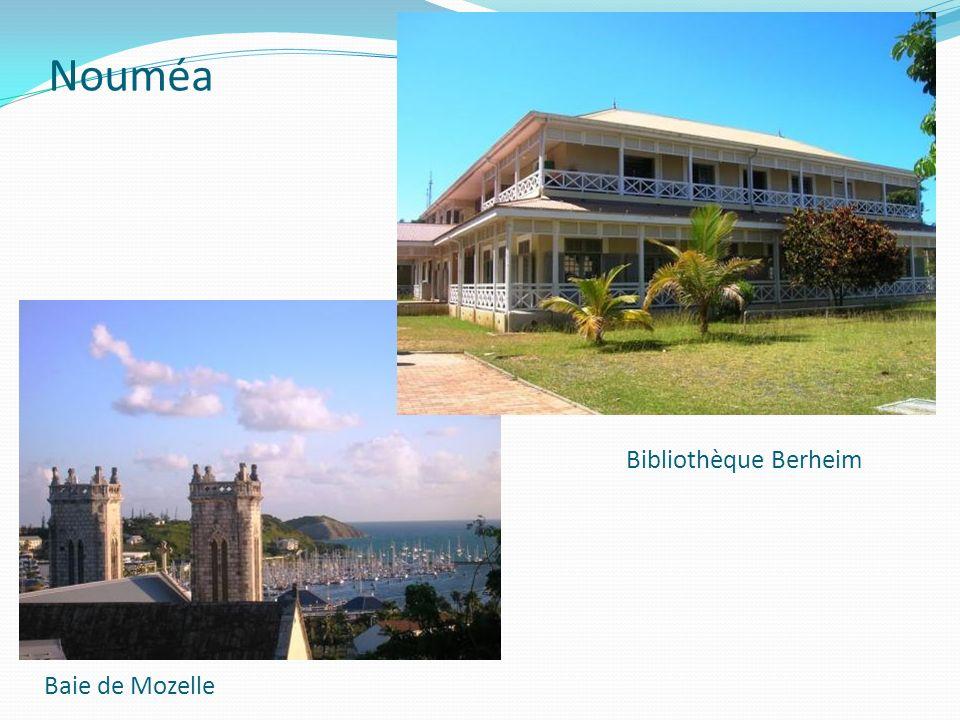 Nouméa Bibliothèque Berheim Baie de Mozelle