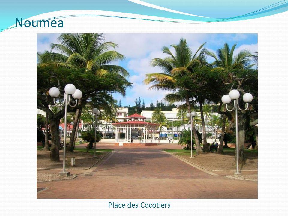 Nouméa Place des Cocotiers