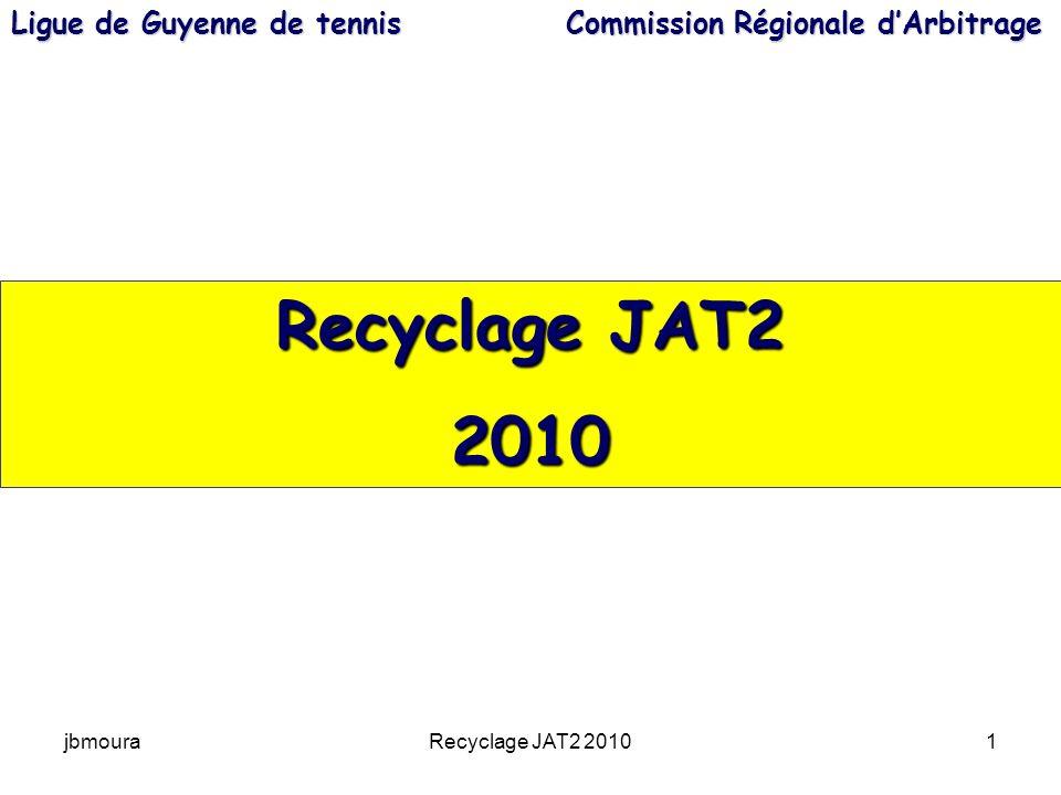 Ligue de Guyenne de tennis Commission Régionale d'Arbitrage