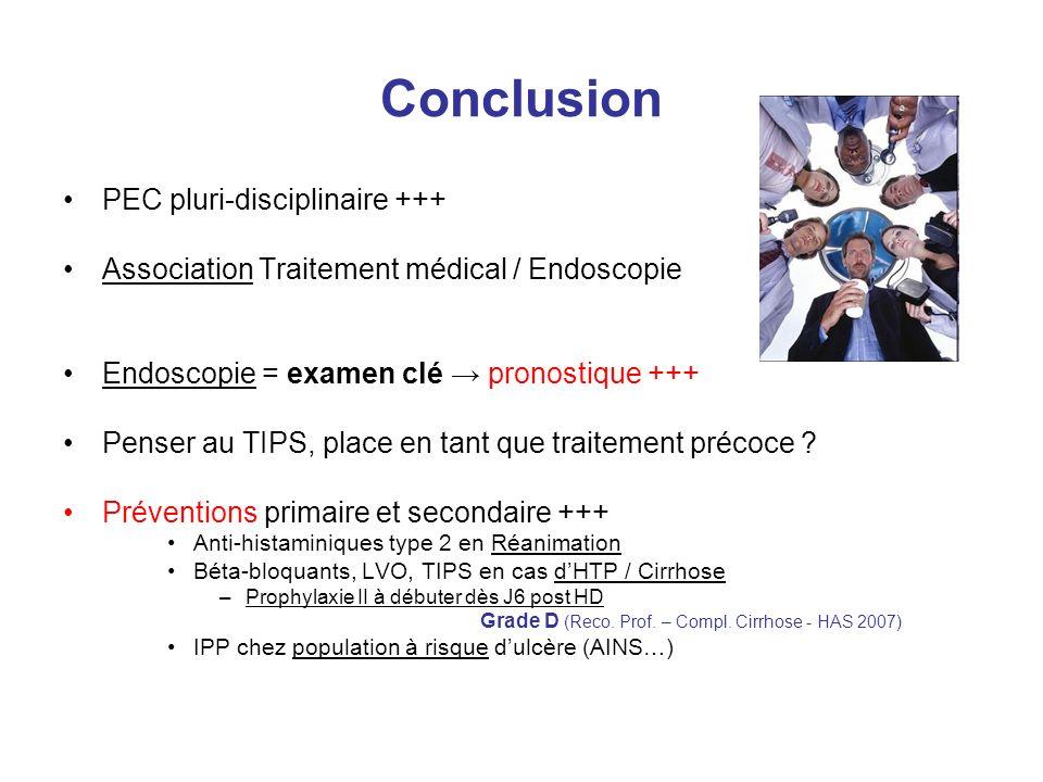 Conclusion PEC pluri-disciplinaire +++