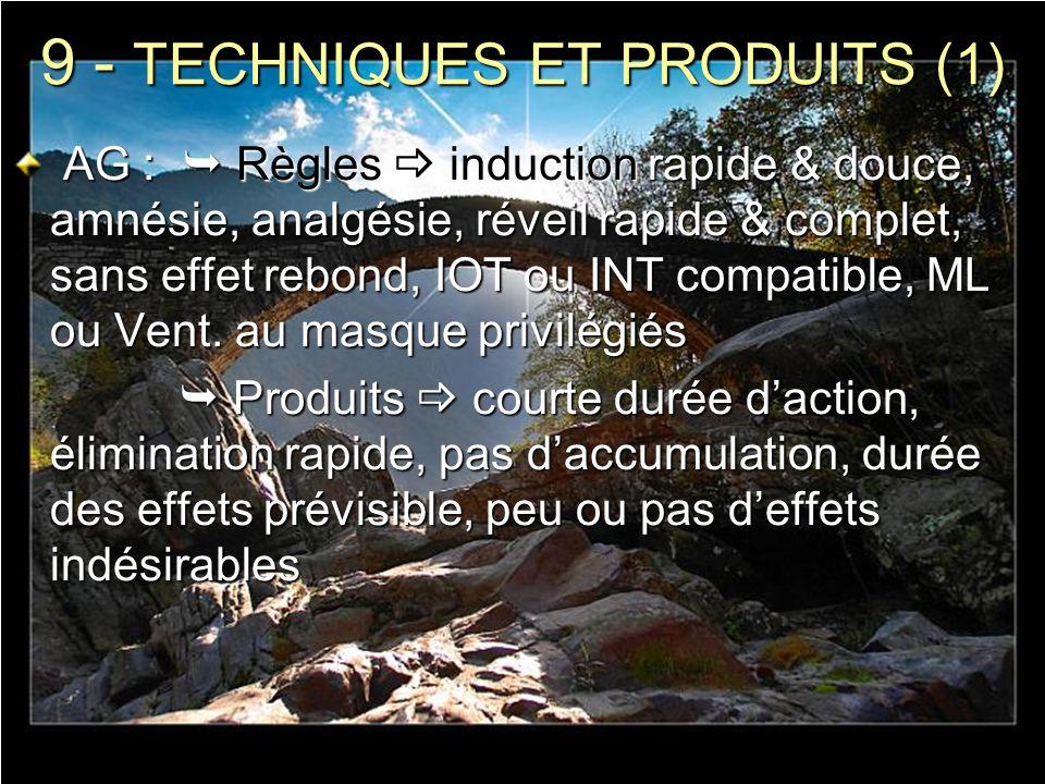 9 - TECHNIQUES ET PRODUITS (1)