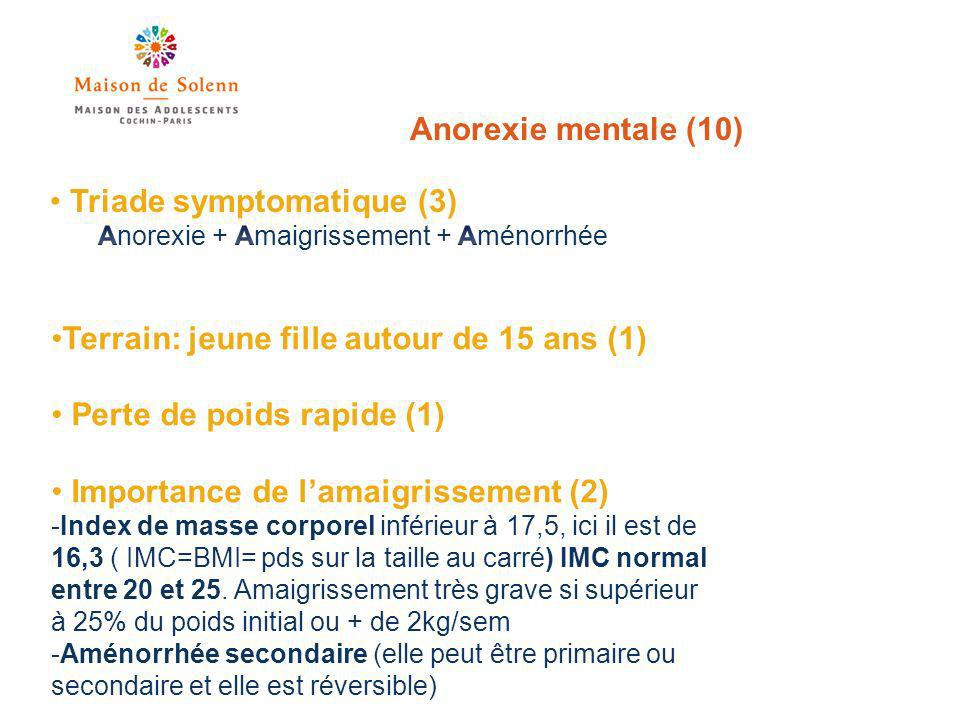 Triade symptomatique (3)