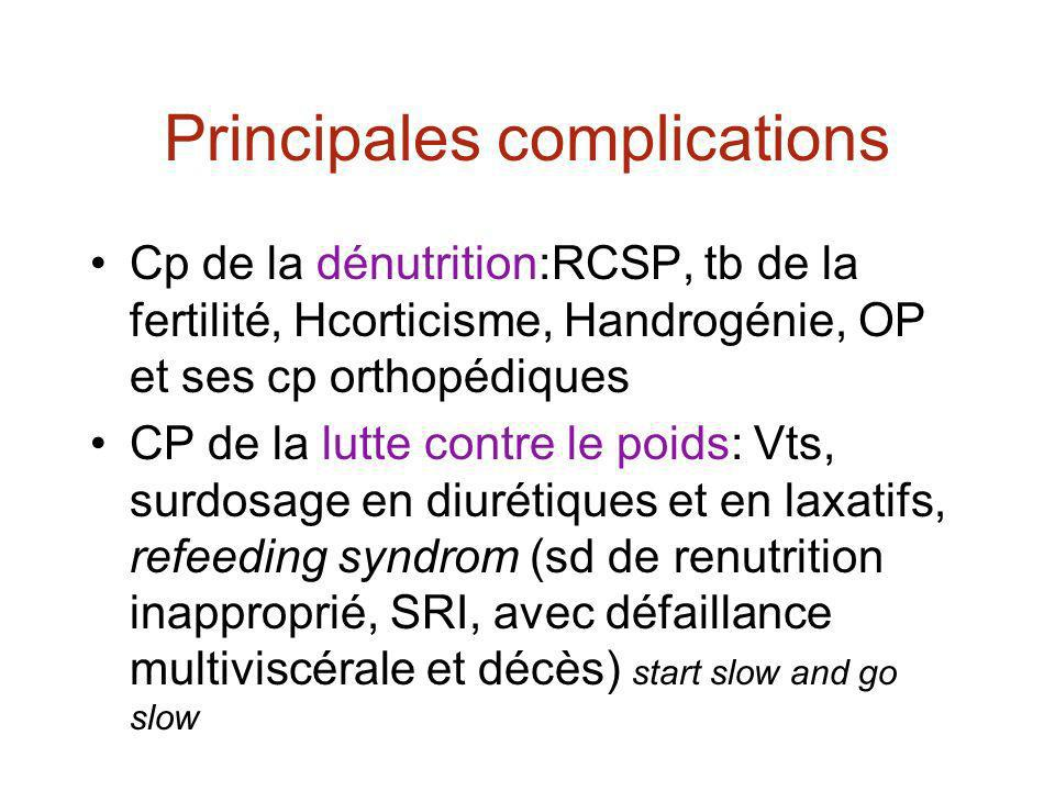 Principales complications