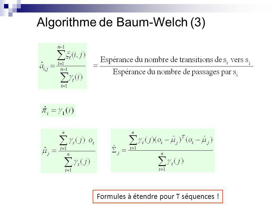 Algorithme de Baum-Welch (3)