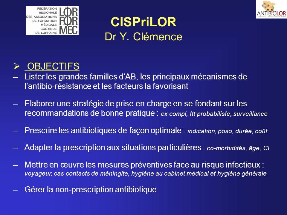 CISPriLOR Dr Y. Clémence