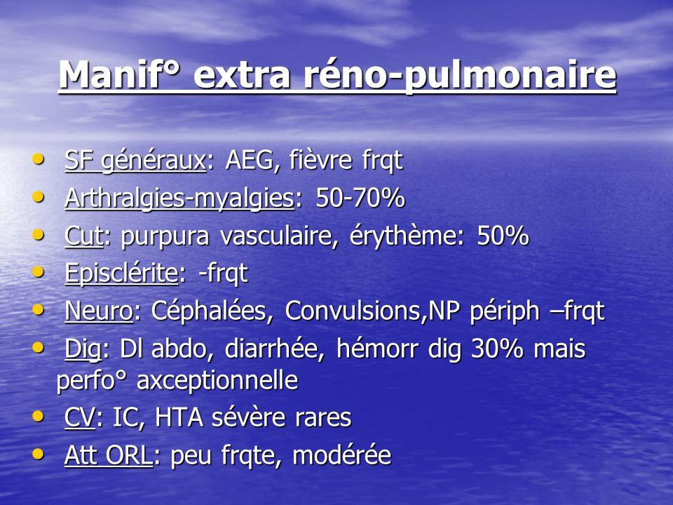 Manif° extra réno-pulmonaire