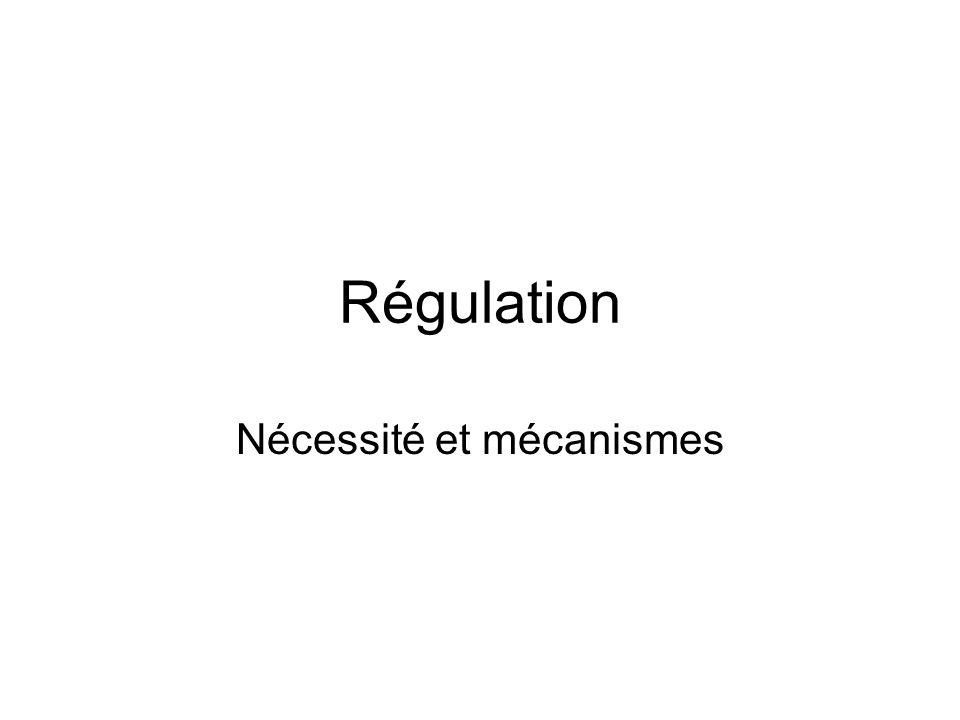Nécessité et mécanismes