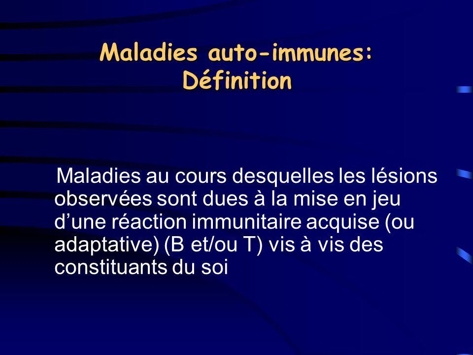 Maladies auto-immunes: Définition