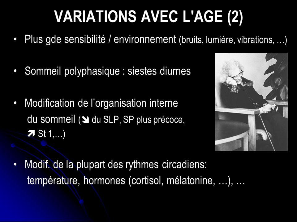 VARIATIONS AVEC L AGE (2)