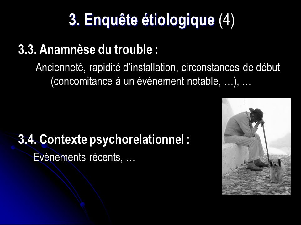 3. Enquête étiologique (4)
