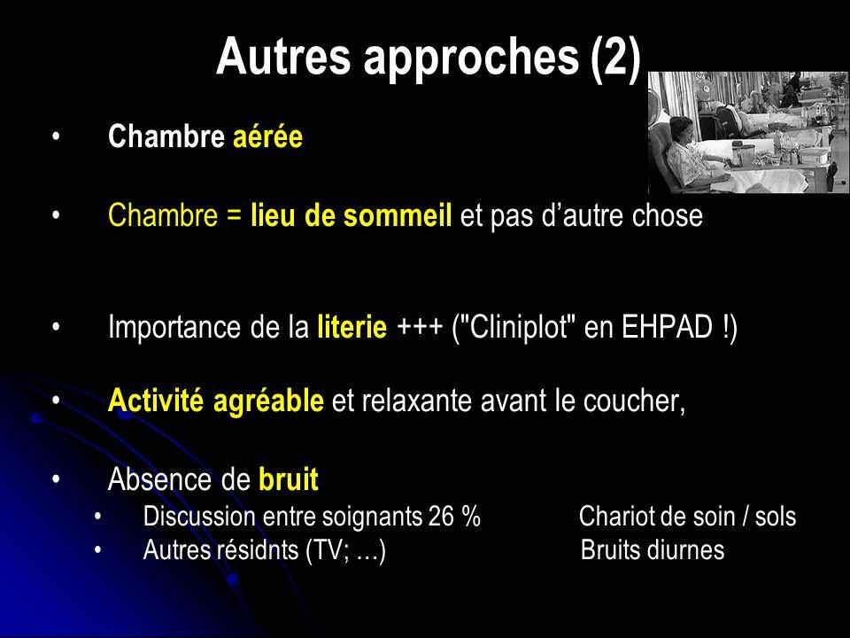 Autres approches (2) Chambre aérée