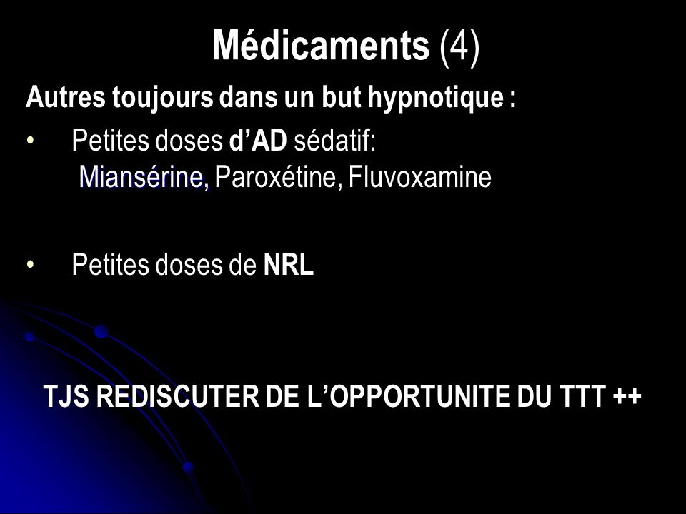 TJS REDISCUTER DE L'OPPORTUNITE DU TTT ++