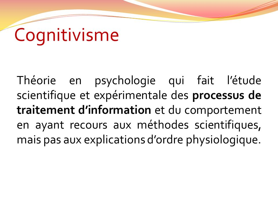 Cognitivisme