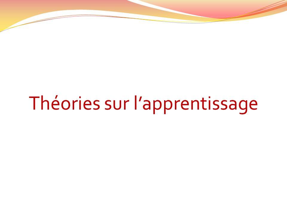 Théories sur l'apprentissage