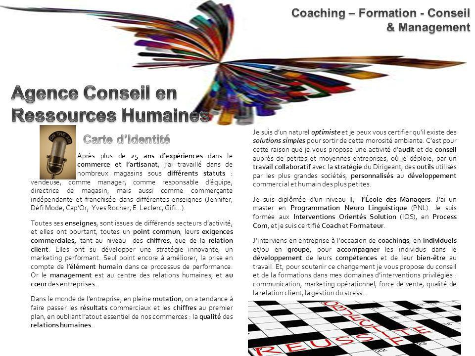 Agence Conseil en Ressources Humaines