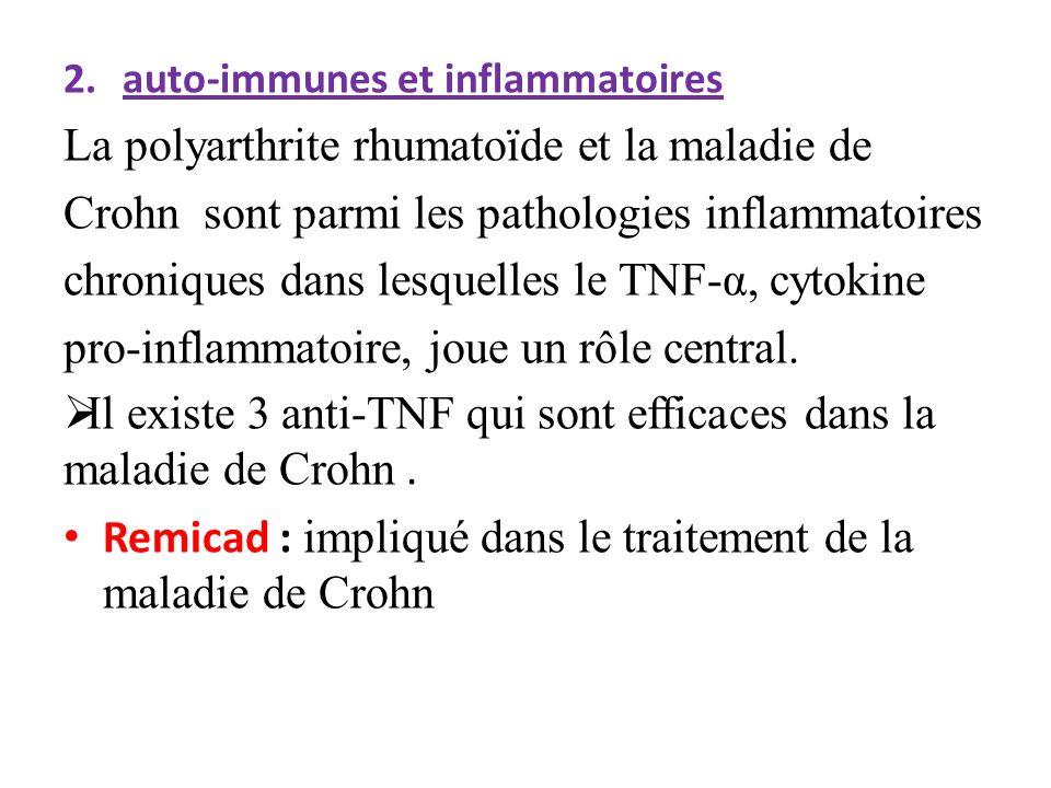La polyarthrite rhumatoïde et la maladie de