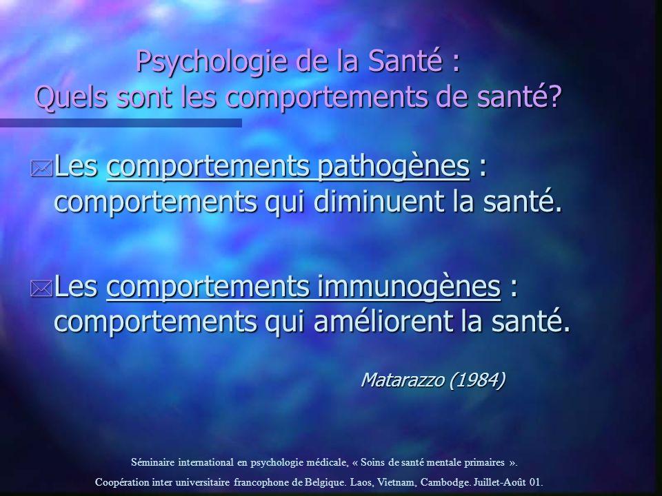 Psychologie de la Santé : Quels sont les comportements de santé