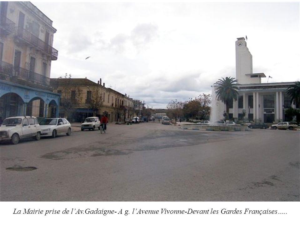 La Mairie prise de l'Av. Gadaigne- A g
