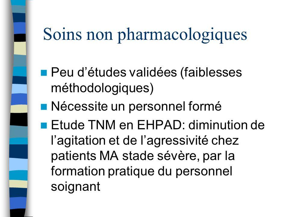 Soins non pharmacologiques