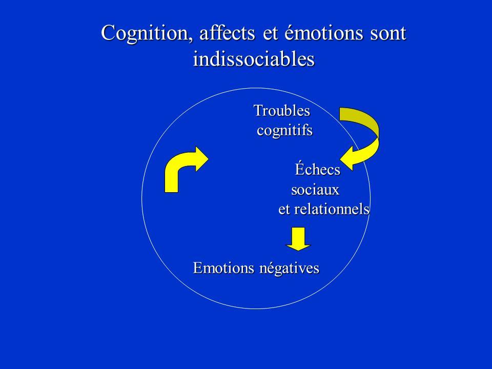 Cognition, affects et émotions sont indissociables