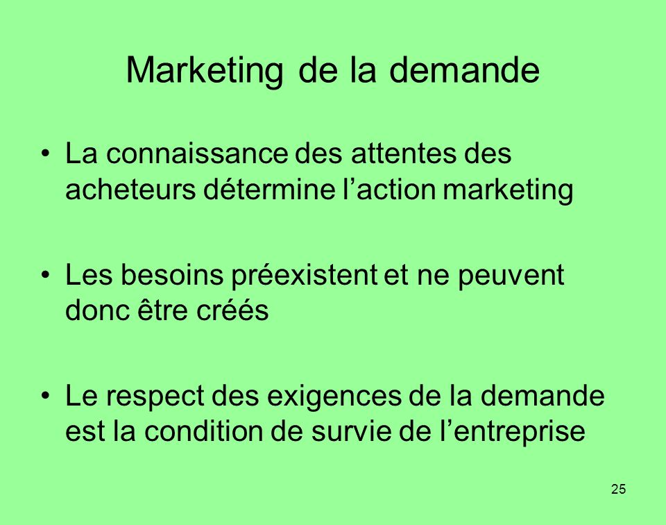 Marketing de la demande